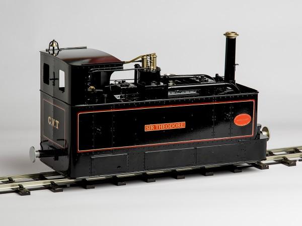 Glyn Valley Tram - 45mm Live Steam Manual (Black) | Garden