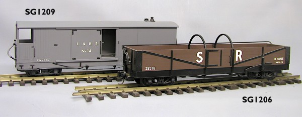 L&B BOGIE OPEN WAGON BODY KIT | Garden Railway Specialists